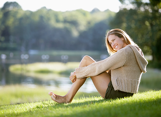 Beugen Sie Cellulite vor und fühlen Sie sich glücklich.